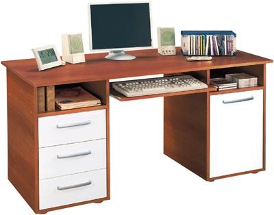 <![CDATA[Počítačový stůl PC stůl 60194 ořech / bílá Idea]]>