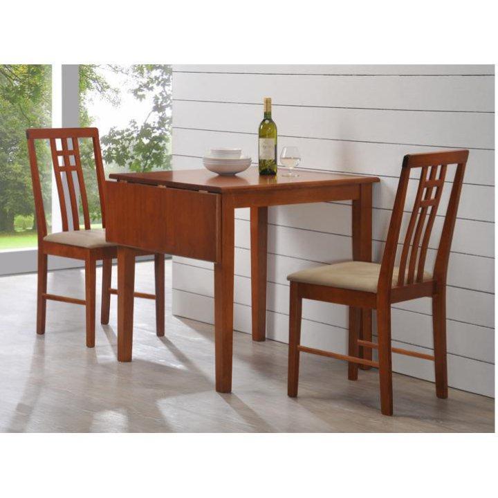 <![CDATA[Jídelní set, jídelní stůl a židle, dub krémová Silas Tempo Kondela]]>