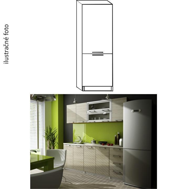 <![CDATA[Kuchyňská skříňka potravinová, dub sonoma, levá, IRYS NEW S-40 Tempo Kondela]]>