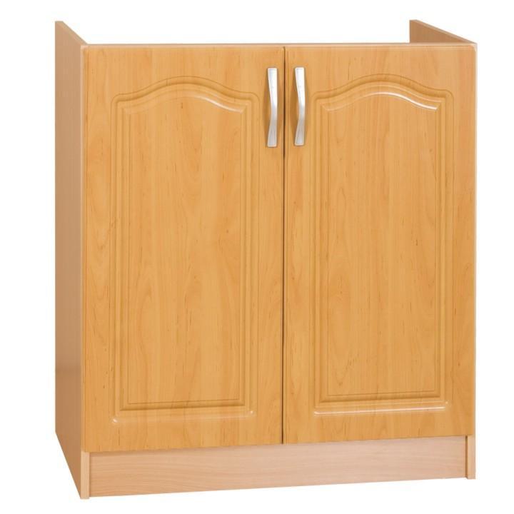 <![CDATA[Skříňka, kuchyňská spodní dřezová, olše, LORA MDF S80ZL Tempo Kondela]]>