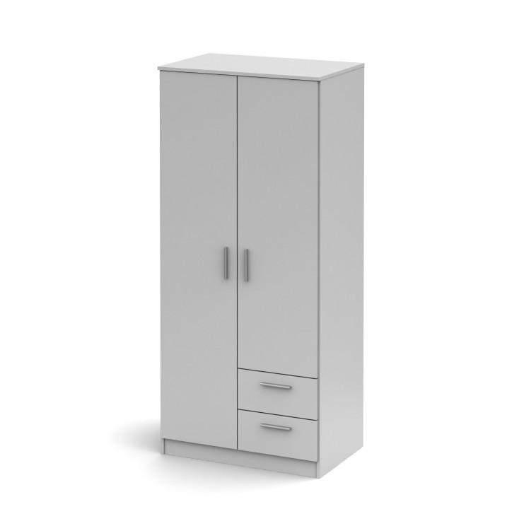 <![CDATA[Skříň dvoudveřová se dvěma zásuvkami, bílá, Singa 81 Tempo Kondela]]>