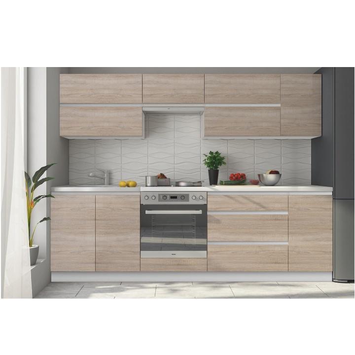 <![CDATA[Kuchyňská skříňka, dolní dvoudveřová, dub sonoma, LINE Tempo Kondela]]>