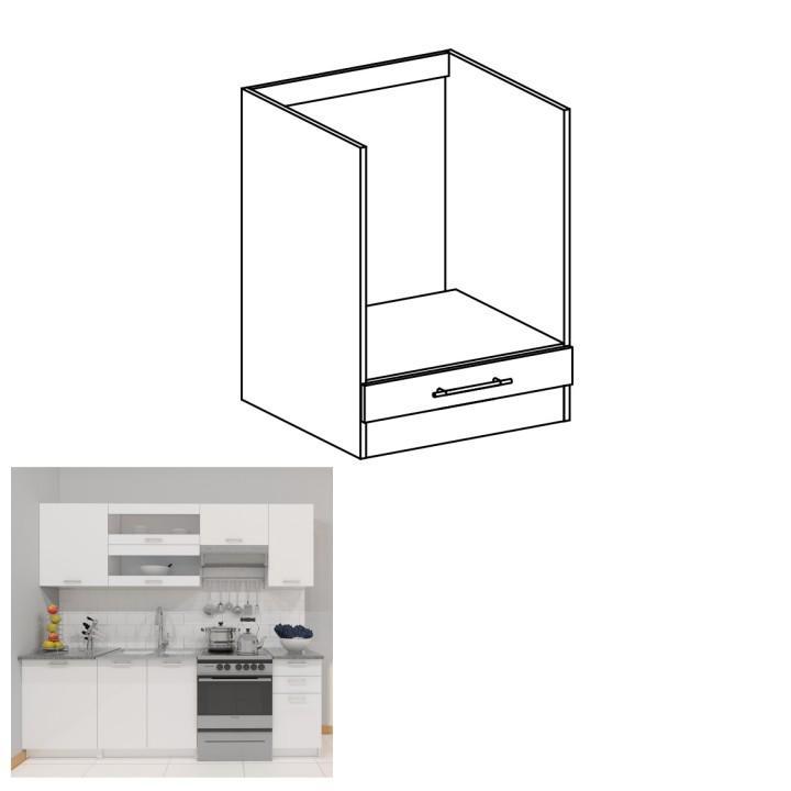 <![CDATA[Skříňka, dolní do kuchyně, bílá, FABIANA S - 60 KU Tempo Kondela]]>