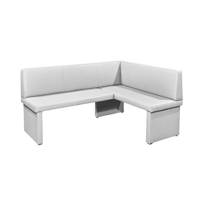 <![CDATA[Rohová jídelní lavice,bílá, pravá, Alessia Pampas Sahara, M9009 Tempo Kondela]]>