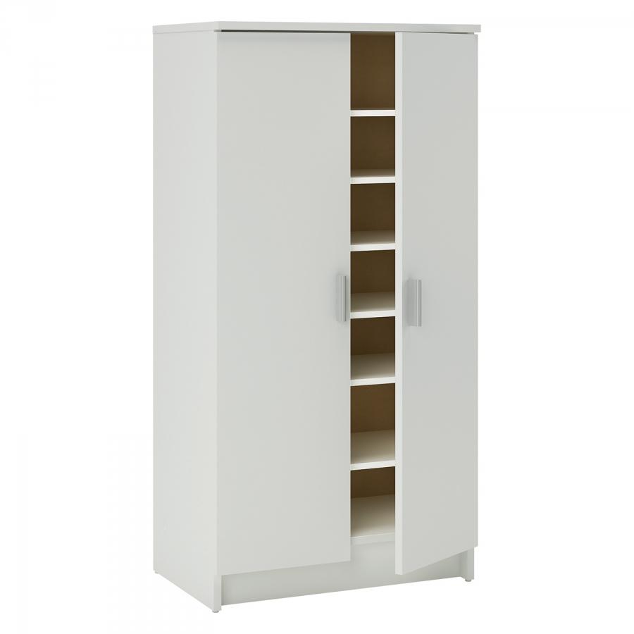 <![CDATA[Botníková skříň 2 dveřová, bílá Idea]]>