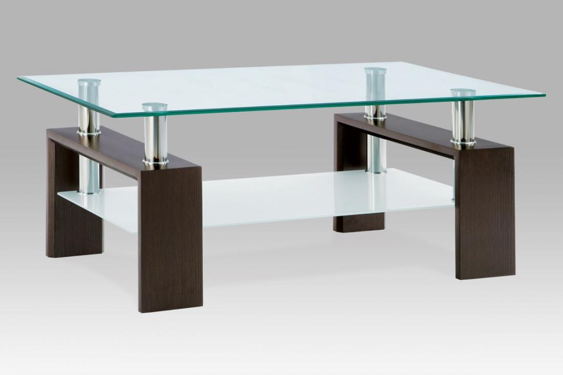 <![CDATA[Konferenční stolek skleněný AF-1024 WAL ořech Autronic]]>
