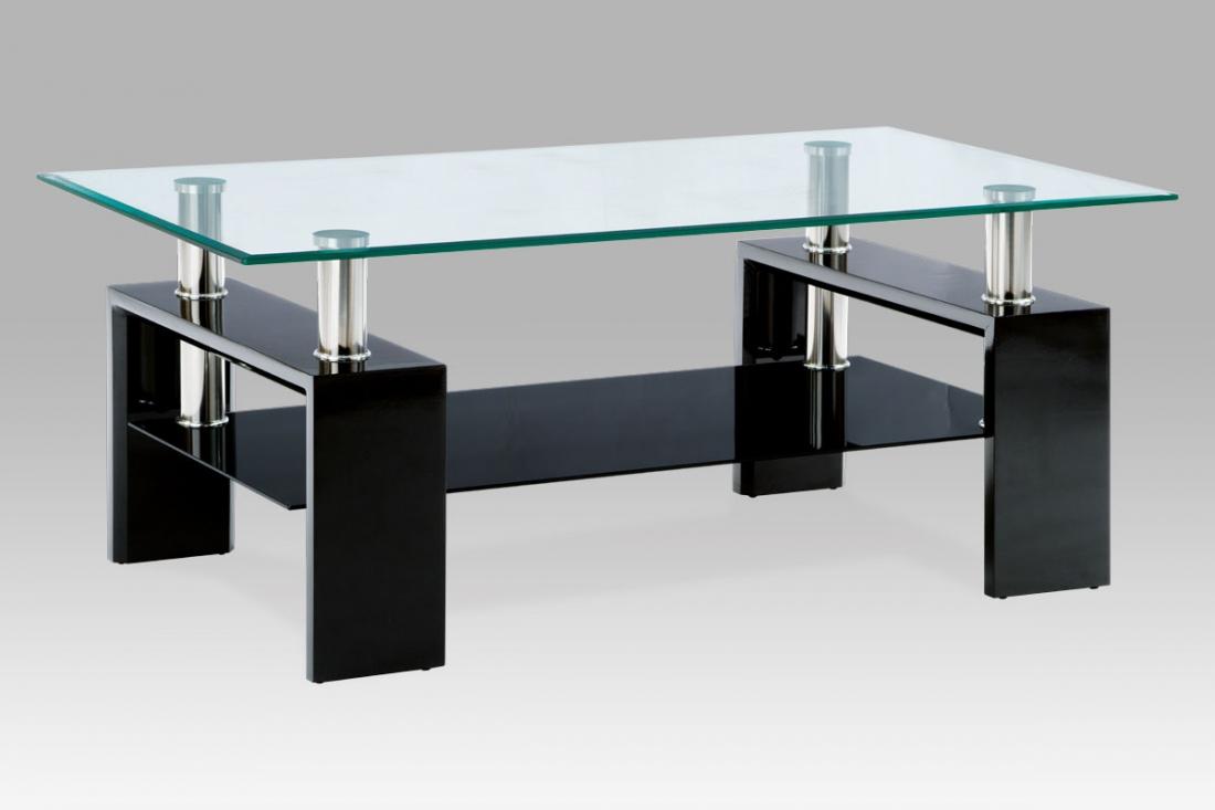 <![CDATA[Konferenční stolek skleněný AF-1024 BK černá Autronic]]>