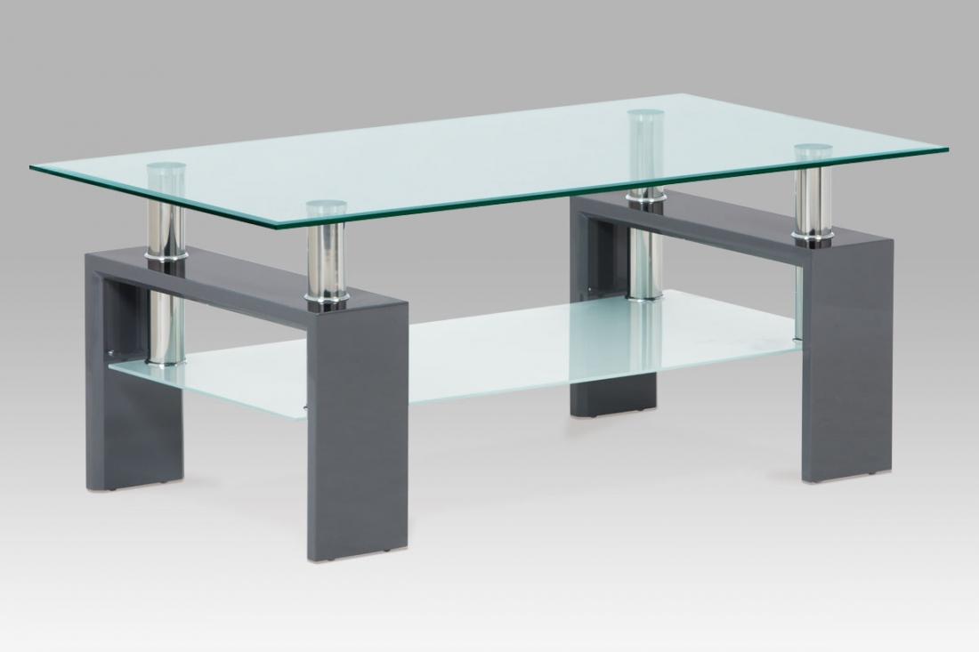 <![CDATA[Konferenční stolek skleněný AF-1024 GREY šedá Autronic]]>