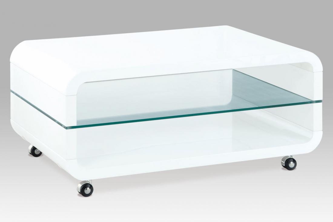 <![CDATA[Moderní konferenční stolek skleněný AHG-011 WT, san remo Autronic]]>