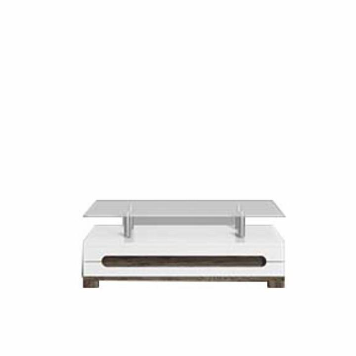 <![CDATA[Konferenční stolek, san remo / bílý vysoký lesk, LORIEN LS 90 Tempo Kondela]]>