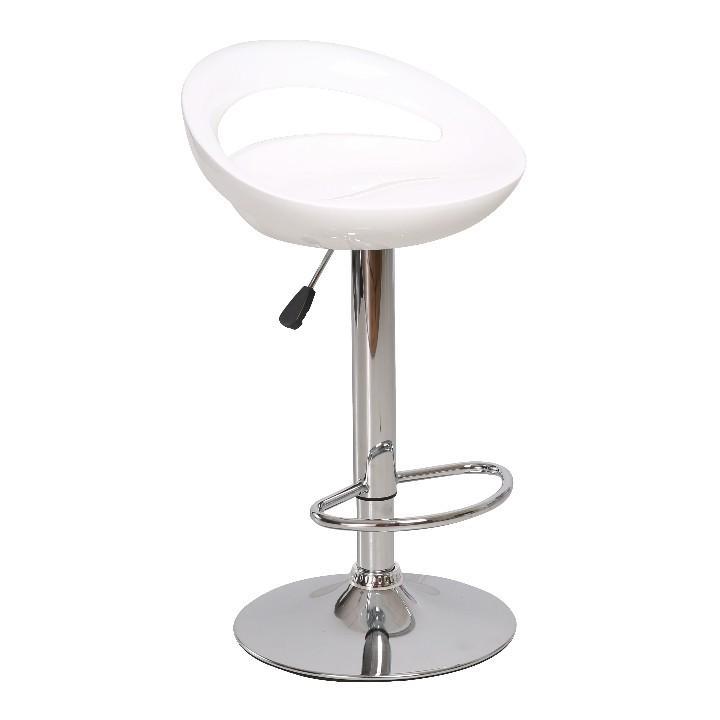 <![CDATA[Barová židle, bílá / chrom, DONGO NOVA Tempo Kondela]]>
