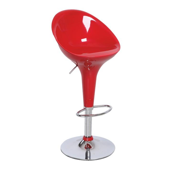 <![CDATA[Barová židle, chrom / červená, ALBA NOVA Tempo Kondela]]>
