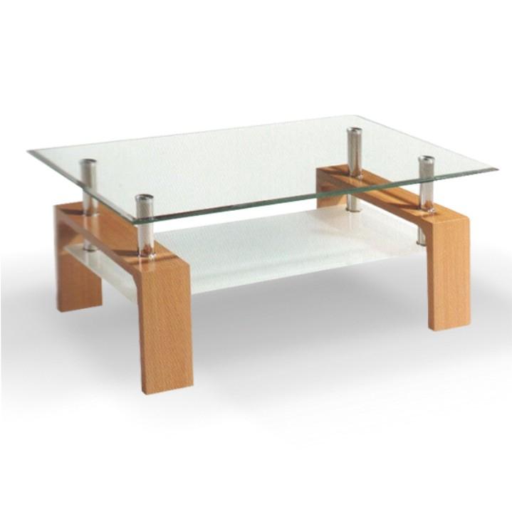 <![CDATA[Konferenční stolek, sklo/buk, LIBOR NEW Tempo Kondela]]>
