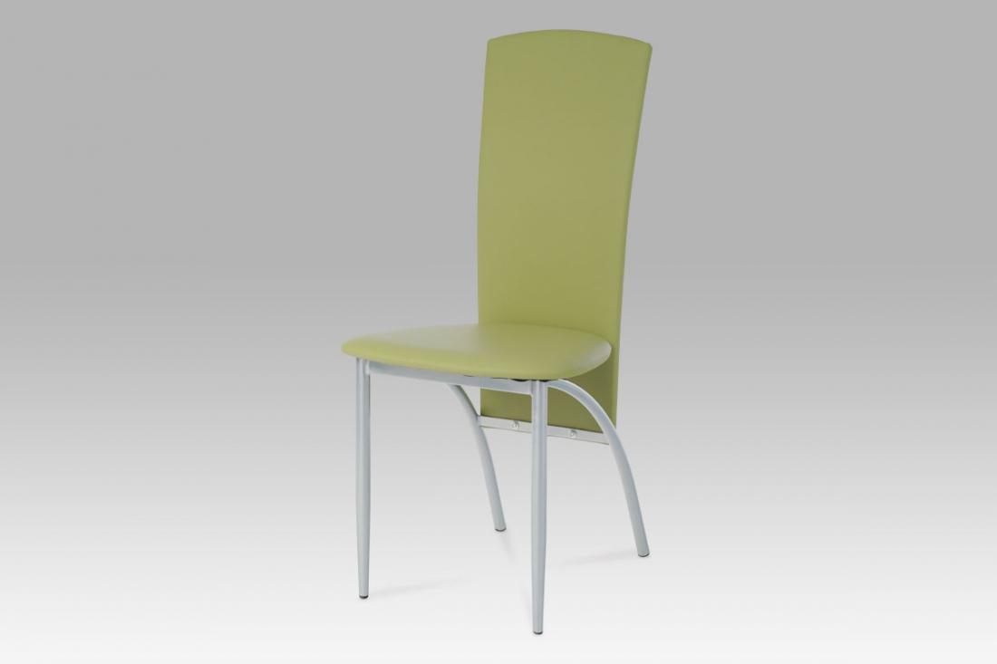 <![CDATA[Jídelní židle alu / zelená, AC-1017 GRN1 Autronic]]>