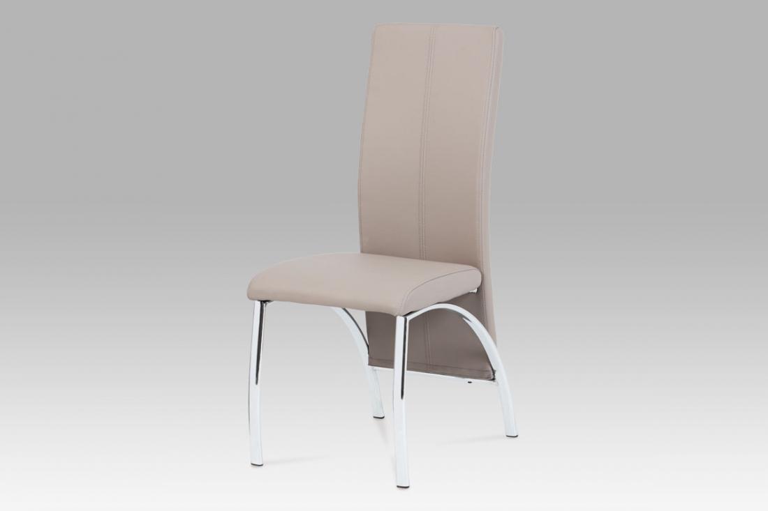 <![CDATA[Jídelní židle, lanýž / chrom, AC-1060 LAN Autronic]]>