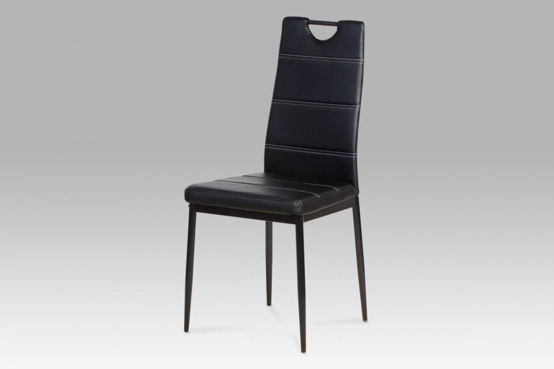 <![CDATA[Jídelní židle černá, AC-1220 BK Autronic]]>