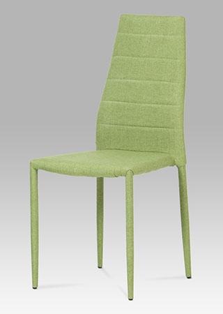 <![CDATA[Jídelní židle látka zelená Autronic]]>