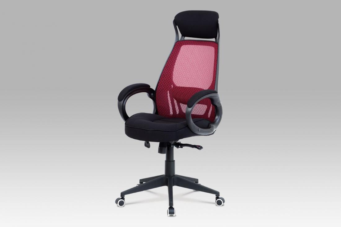 <![CDATA[Kancelářská židle červená / černá, KA-G109 RED Autronic]]>