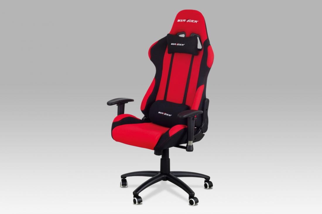 <![CDATA[Kancelářská židle, červená, sportovní design, KA-F01 RED Autronic]]>