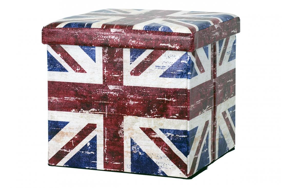 <![CDATA[Taburet skládací s motivem britské vlajky Autronic]]>