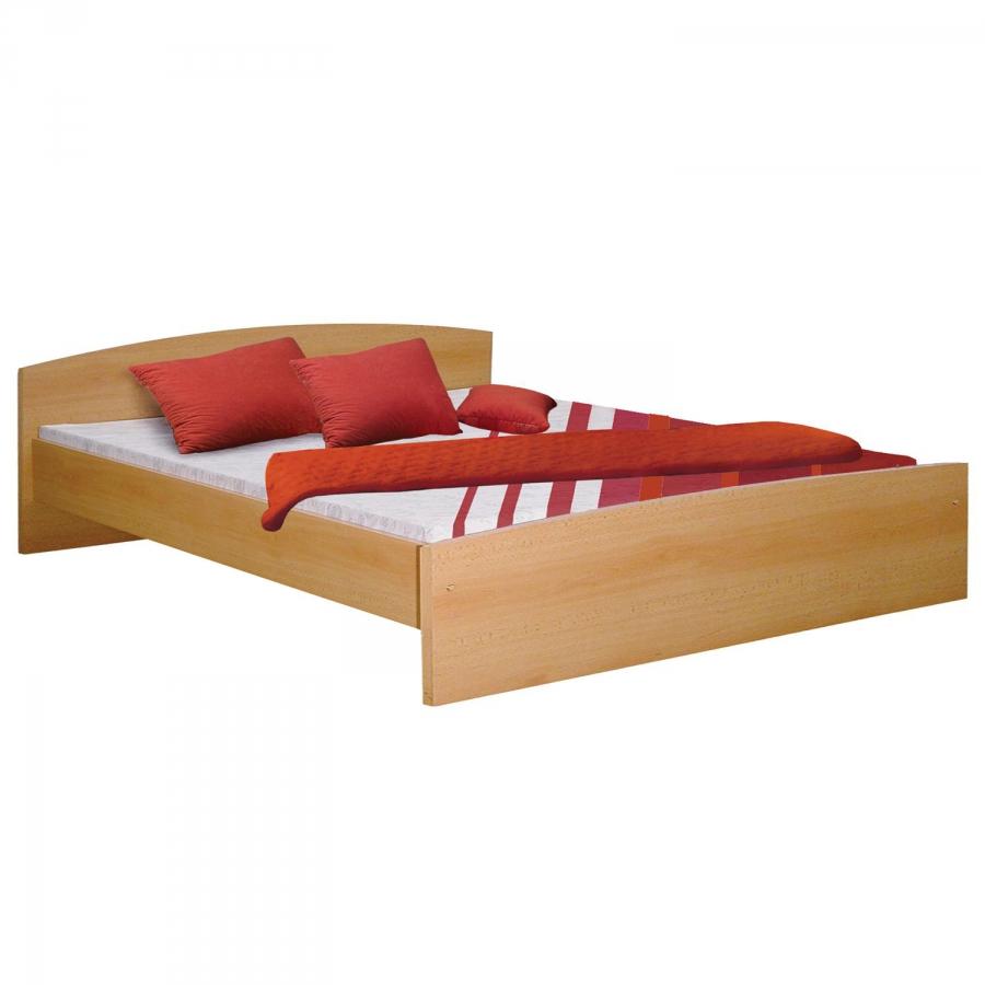 <![CDATA[Manželská postel 342 buk 180x200 cm Idea]]>