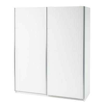 <![CDATA[Skříň šatní s posuvnými dveřmi 190580 bílá Idea]]>