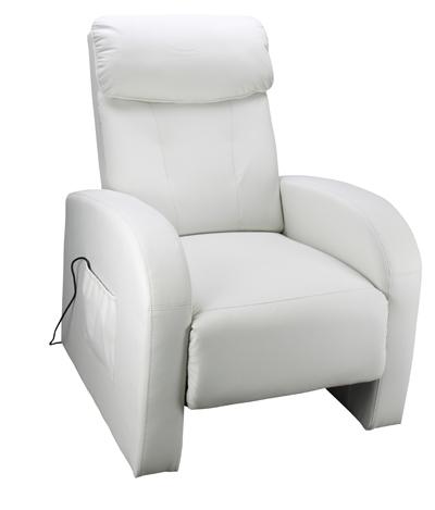 <![CDATA[Relaxační masážní křeslo TOLEDO bílé Idea]]>