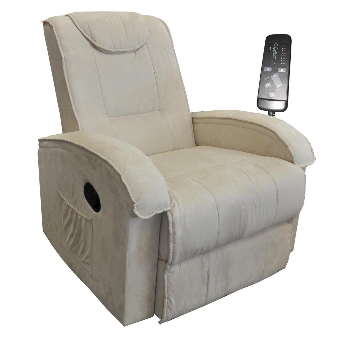 <![CDATA[Relaxační masážní křeslo BOB béžová K40 Idea]]>