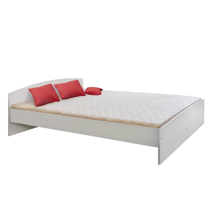<![CDATA[Manželská postel 342 (bílá) 180x200 cm Idea]]>