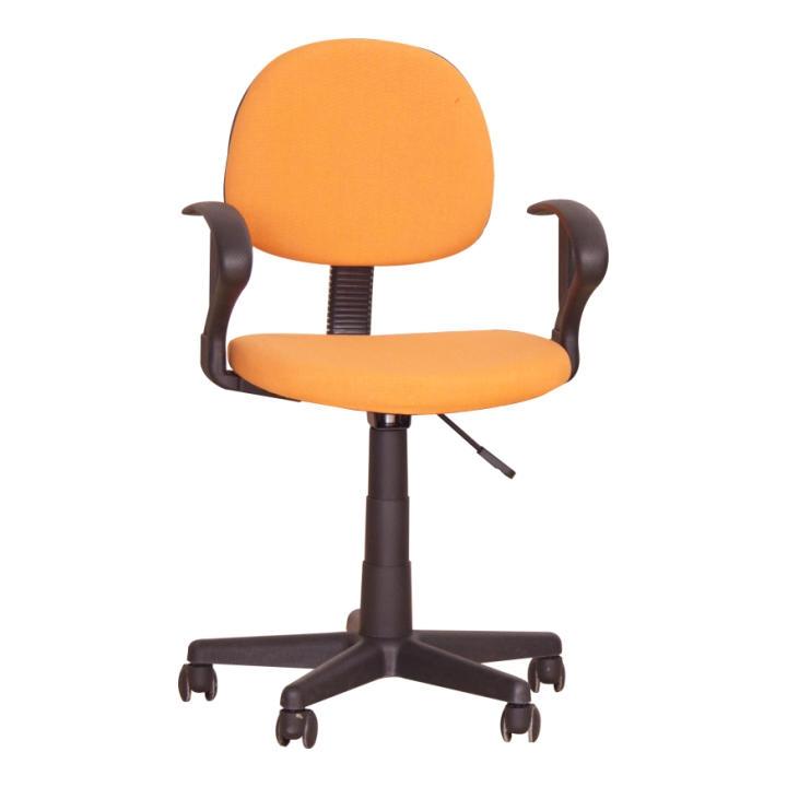 <![CDATA[Kancelářská židle, dětská, s područkami, oranžová, TC3-227 Tempo Kondela]]>