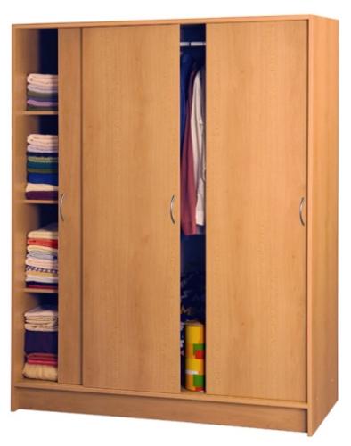 <![CDATA[Šatní skříň s posuvnými dveřmi 3323 buk Idea]]>