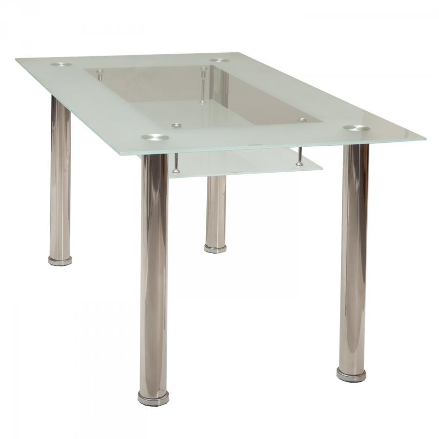 <![CDATA[Jídelní skleněný stůl Venezia tvrzené sklo Idea]]>