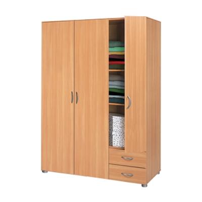 <![CDATA[šatní skříň třídveřová 5066 buk Idea]]>