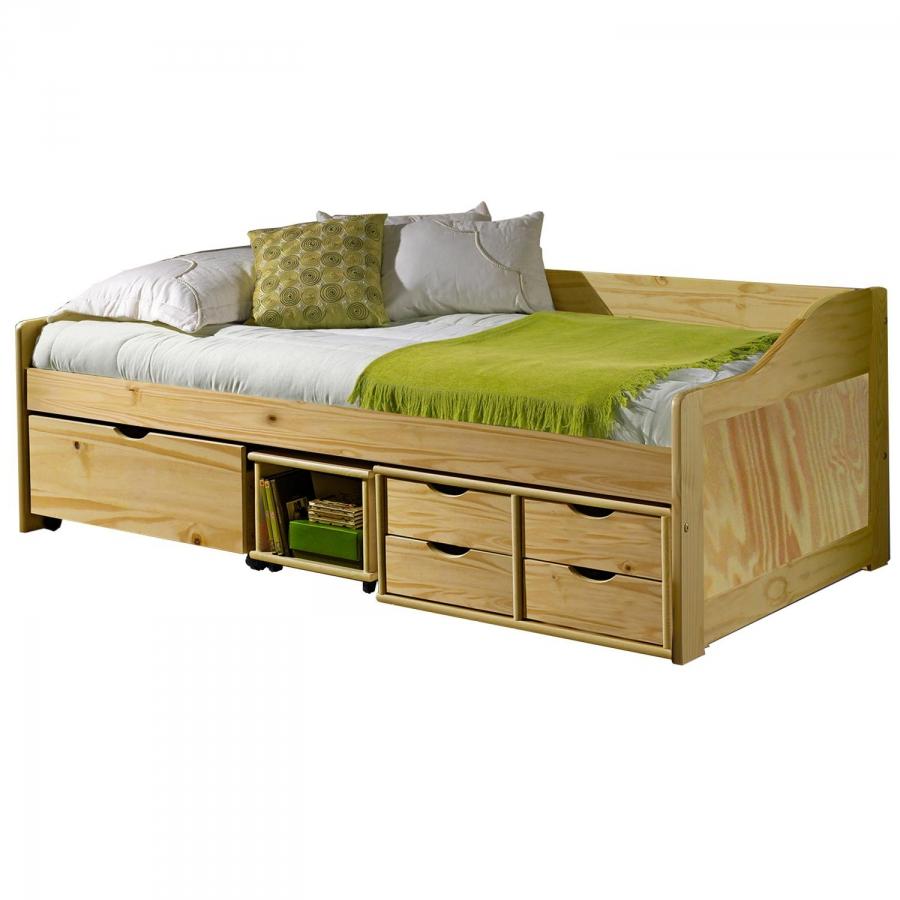 <![CDATA[Zvýšená postel 90x200 cm s roštem 8809 Idea]]>