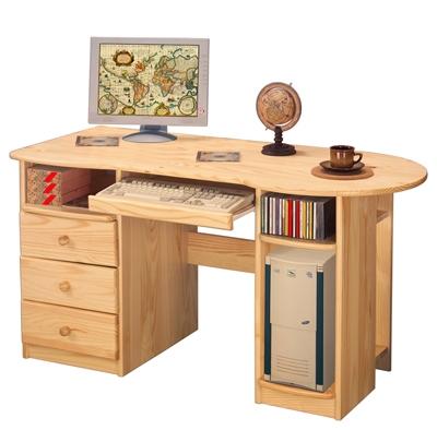 <![CDATA[PC stůl 8843 borovicový masiv Idea]]>