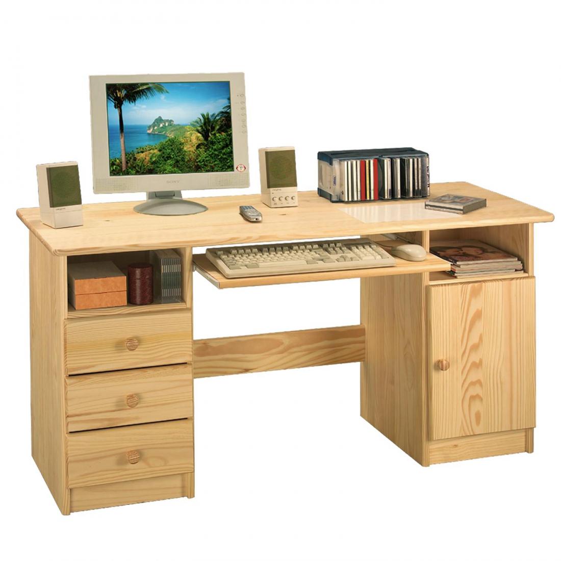 <![CDATA[Počítačový stůl, PC stůl 8847 borovicový masiv Idea]]>