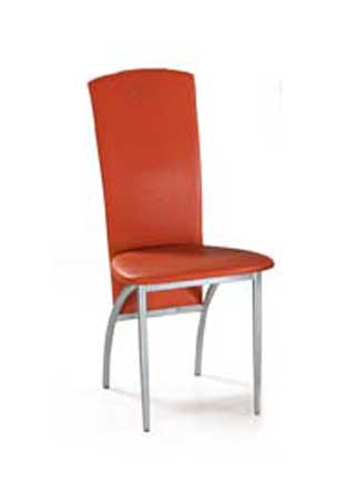 <![CDATA[Jídelní židle AC-1017 ORA alu / oranžová Autronic]]>