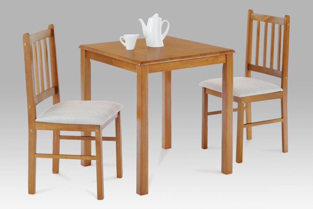 <![CDATA[Jídelní set, jídelní stůl a židle JAGUAR OAK 1+2 dub Autronic]]>