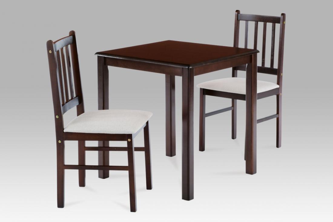 <![CDATA[Jídelní set 1+2, jídelní stůl a židle, JAGUAR WAL, ořech Autronic]]>