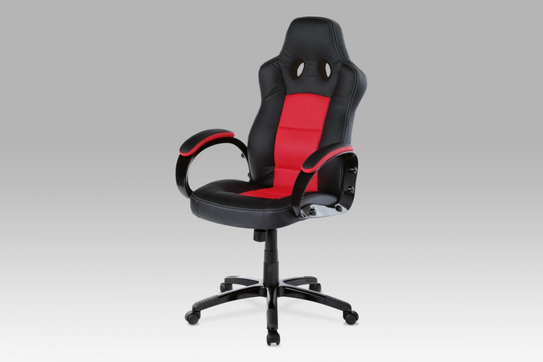 <![CDATA[Kancelářská židle KA-E280B RED černo-červená Autronic]]>