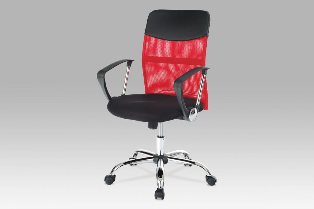 <![CDATA[Kancelářská židle KA-E310 RED červená Autronic]]>