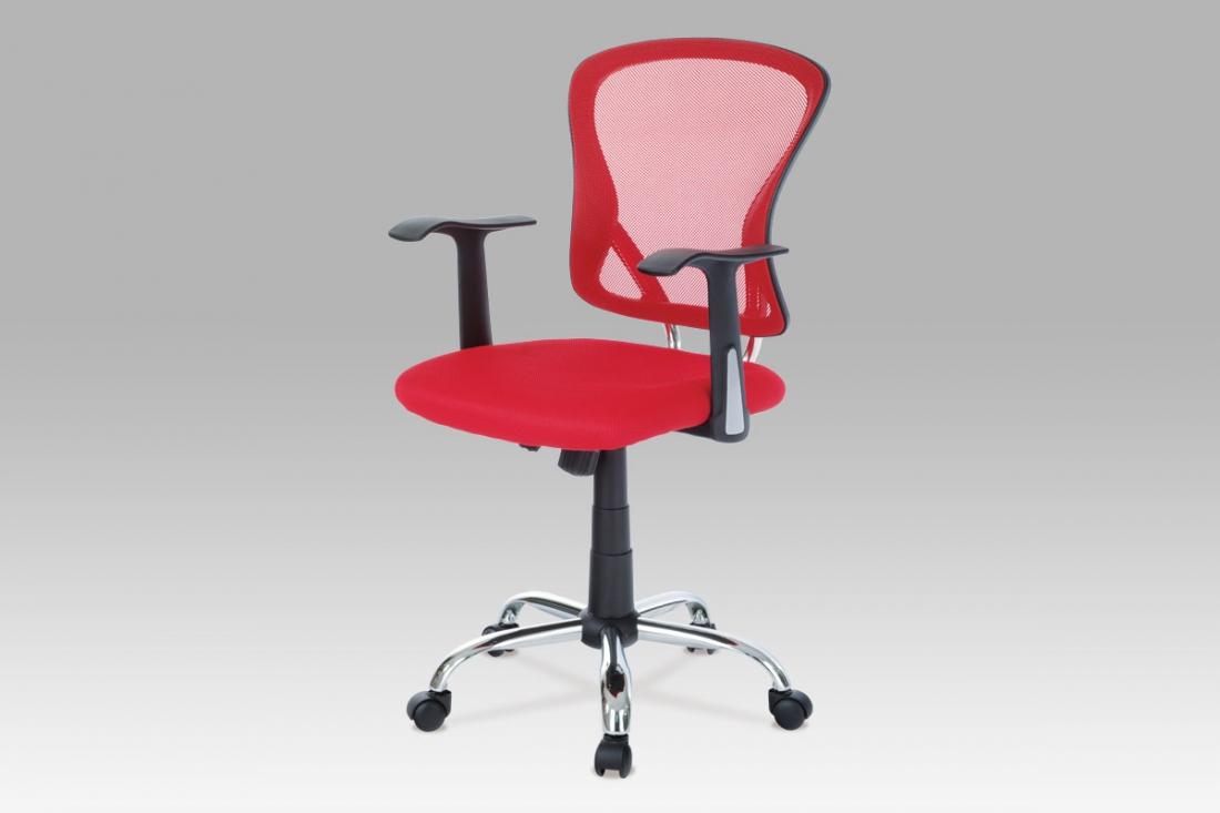 <![CDATA[Kancelářská židle KA-N806 RED červená Autronic]]>