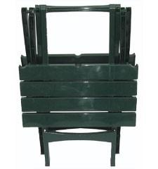 <![CDATA[Zahradní stůl Roxy skládací plastový zelený Bibl]]>