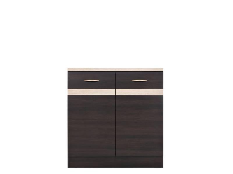 <![CDATA[Spodní kuchyňská skříňka Junona D2D-80-82 wenge, wenge BRW]]>