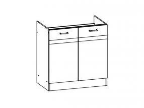 <![CDATA[Spodní kuchyňská skříňka Eliza EZ17/D80 dřezová Bog-Fran CZ]]>