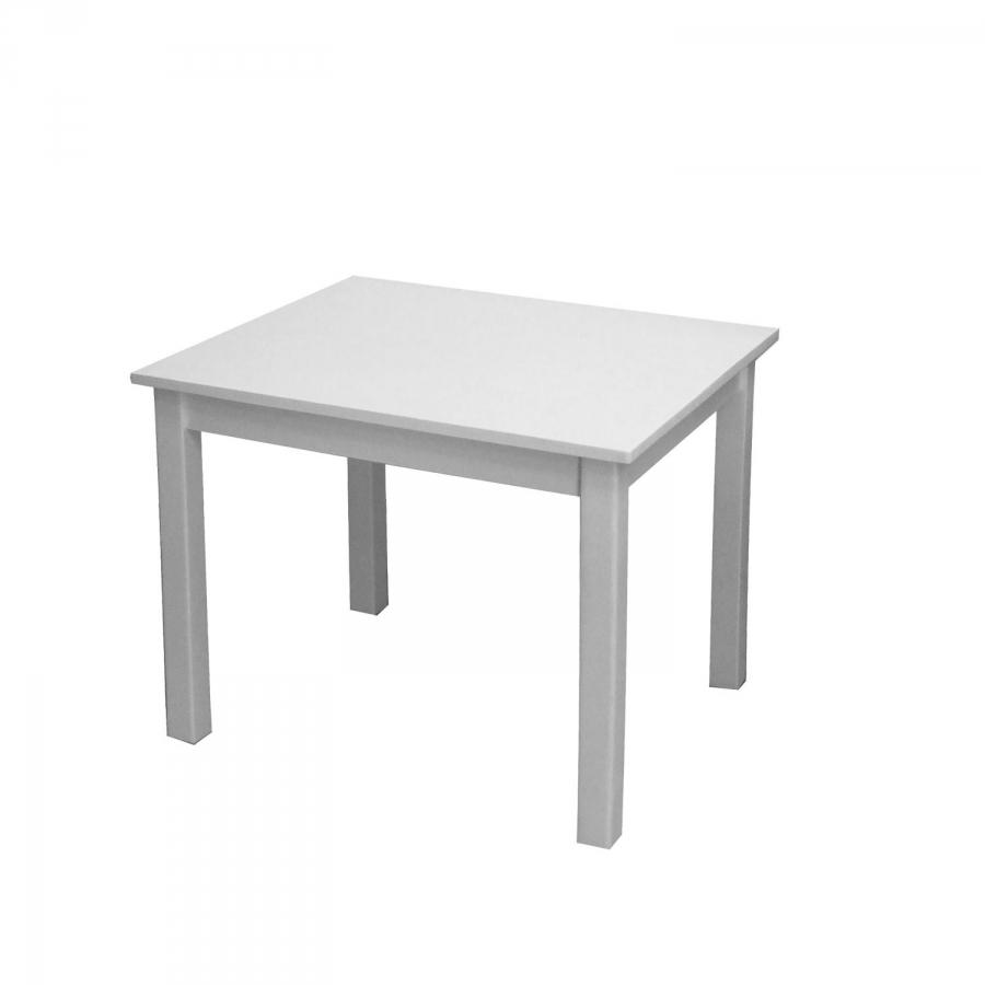 <![CDATA[Dětský stůl 8857 z borovicového masivu, bílý lak Idea]]>