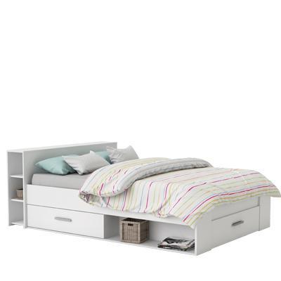 <![CDATA[Multifunkční postel 140x200 bílá, POCKET, 159574 Idea]]>